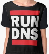RUN DNS Women's Chiffon Top