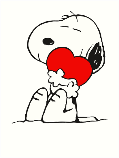 SNOOPY LOVE HUGGING by tomipasla