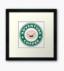 Adventure Finn Coffee Framed Print