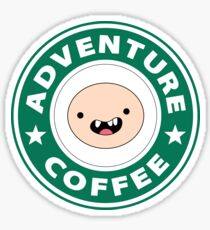 Adventure Finn Coffee Sticker