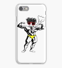Beautiful Sexy Body- A Beast Named Dick- Absurd Humor iPhone Case/Skin