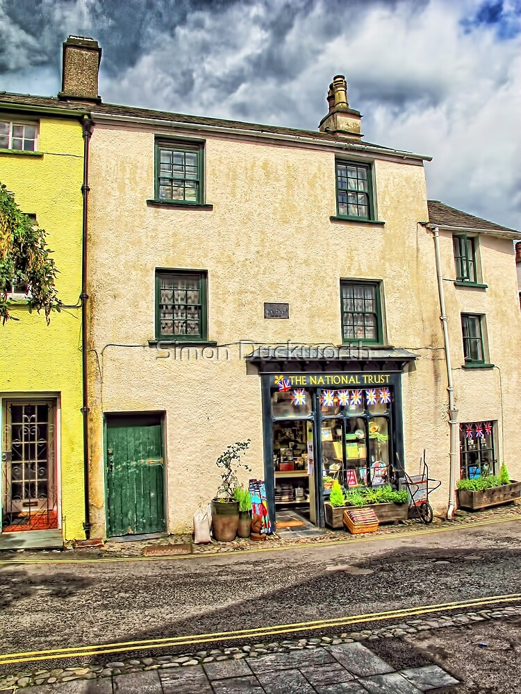 Ye olde Shoppie Hawkshead, Lake District by Simon Duckworth
