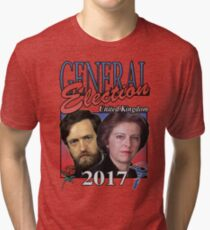 GENERAL ELECTION 2017 VINTAGE TSHIRT Tri-blend T-Shirt
