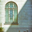 Window, shadow and bicycle by Silvia Ganora