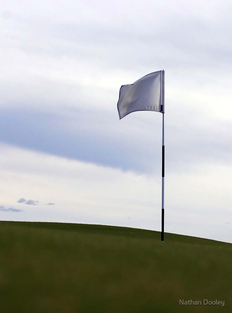 Hole 2 Flag by Nathan Dooley