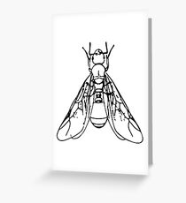 Winged Ant Greeting Card