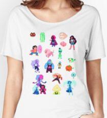 Steven Universe pixel art!  Women's Relaxed Fit T-Shirt