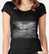 Colibita, Romania Women's Fitted Scoop T-Shirt