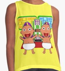TV Game Show - TPIR (The Price Is...) Baby On The Way Twins Contrast Tank