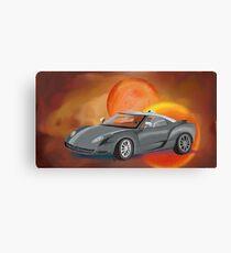 Sci-Fi Car Canvas Print