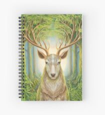 Deer Totem Spiral Notebook