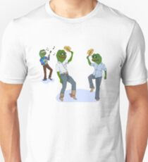 Dancing Pepes Unisex T-Shirt