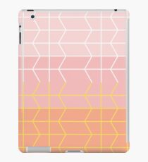Pinky Peach Chevron iPad Case/Skin