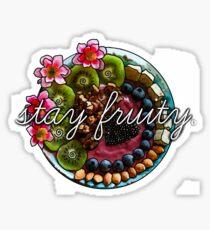 Stay Fruity Sticker