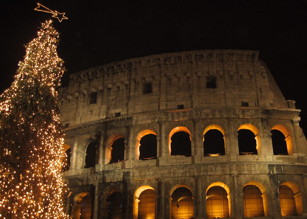 Colosseum Christmas by shoey