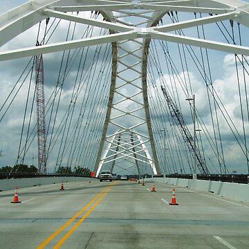 The NEW Broadway Bridge by WildestArt