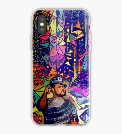 Abstract Schoolboy Q iPhone Case