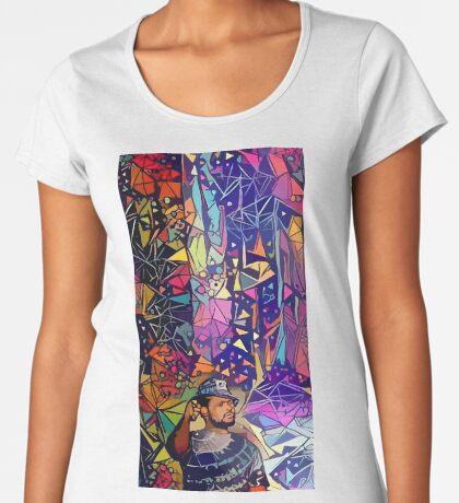 Abstract Schoolboy Q Premium Scoop T-Shirt