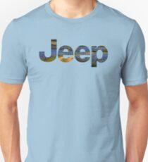 jeep logo blue bonnets Unisex T-Shirt