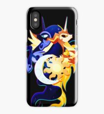 Nightmare Moon and Daybreaker iPhone Case/Skin