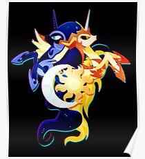 Nightmare Moon and Daybreaker Poster