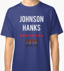 Johnson Hanks 2020 Presidential Election T-shirt Classic T-Shirt