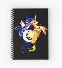 Nightmare Moon and Daybreaker Spiral Notebook