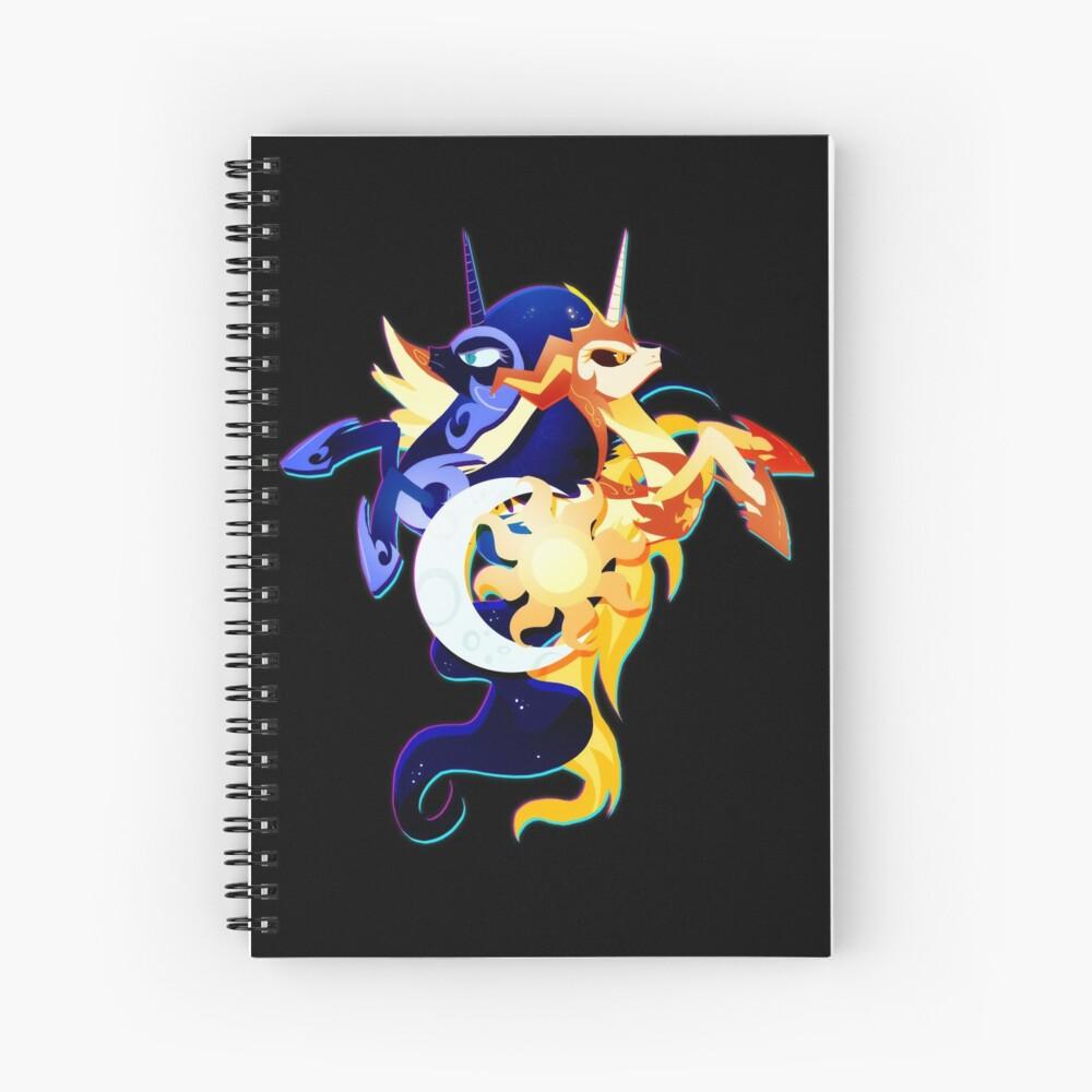 Nightmare Moon y Daybreaker Cuaderno de espiral