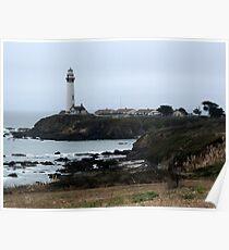 Ocean  Lighthouse Poster