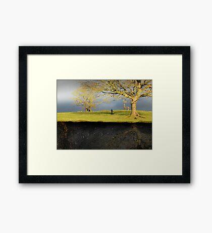Subterranean :1 Framed Print