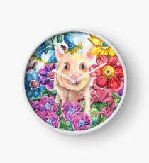 Penelope Pig Clock