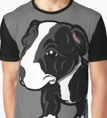 Black And White EBT Puppy  Graphic T-Shirt