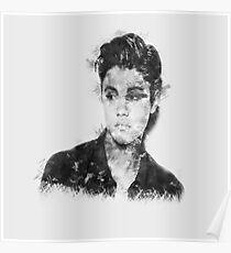 Justin Bieber Art Design Poster