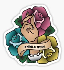 A Mind At Work Sticker
