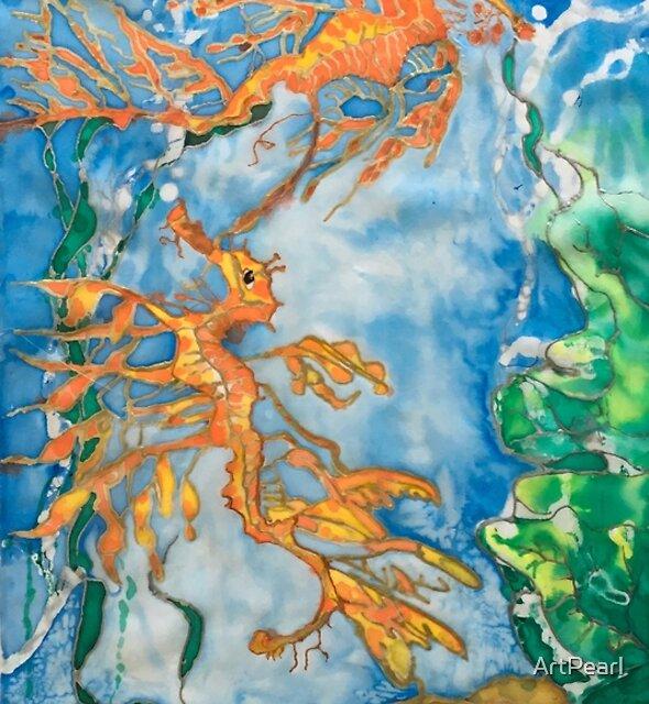 Sea Dragons by ArtPearl