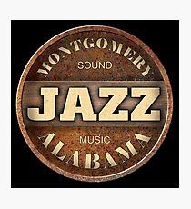 Montgomery Sound Jazz Music Alabama Photographic Print