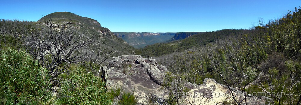 Mt Banks Panorama by STEPHEN GEORGIOU PHOTOGRAPHY