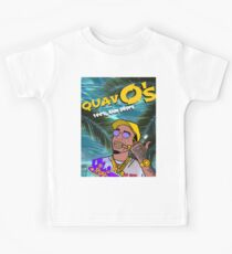 Quavo's Cereal Beach Blue Kids Clothes