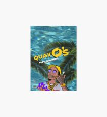 Quavo's Cereal Beach Blue Art Board