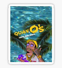 Quavo's Cereal Beach Blue Sticker