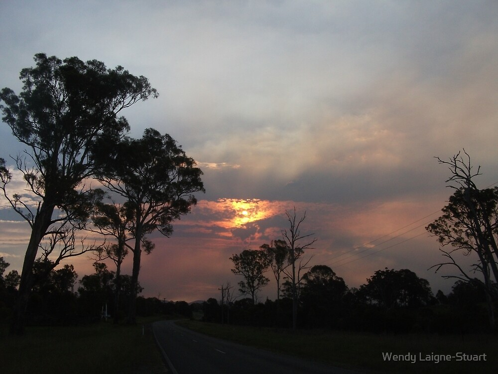 Fire In The Sky by Wendy Laigne-Stuart