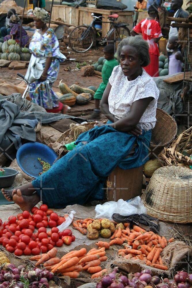 Kampala Markets by David Tate