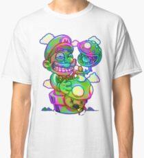 Trippy Mario Classic T-Shirt
