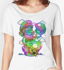Trippy Mario Women's Relaxed Fit T-Shirt