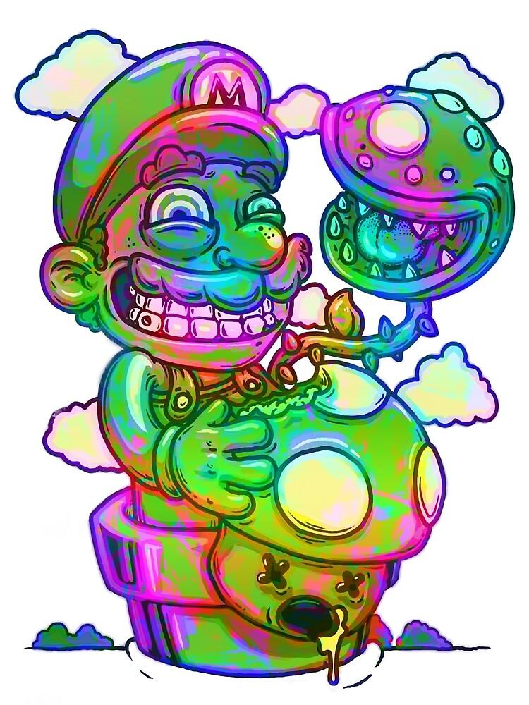 Trippy Mario by Joey Di Nardo