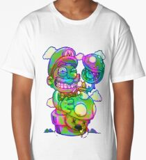 Trippy Mario Long T-Shirt