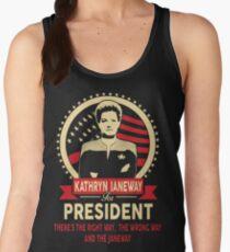 Janeway for President Women's Tank Top