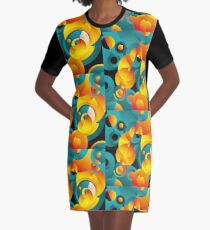 wonderful circles Graphic T-Shirt Dress