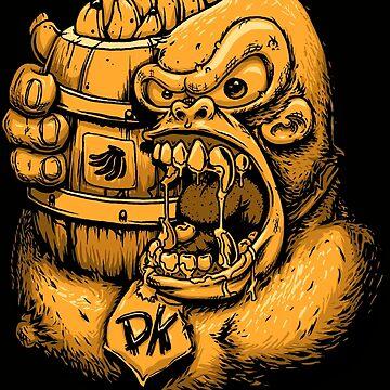Donkey Kong Bananas by JoeyKnuckles
