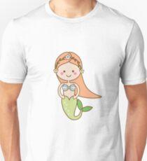 Cute kawaii Mermaid character Unisex T-Shirt